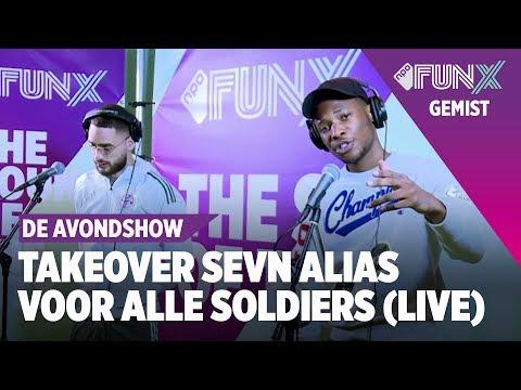 Sevn Alias Ft. Josylvio - Voor Alle Soldiers (Live bij FunX)