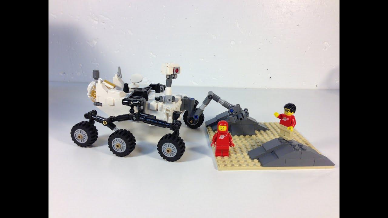 LEGO Cuusoo 5 set Curiosity Rover NASA Mars Science