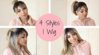 HIGH PONYTAIL...CHECK! | Mane Concept BSB01 Spade Wig Review | Elevatestyles.com