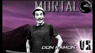 Mortal Kombat Project 4.1 (2018) Season 2 Final - Don Ramón Full Playthrough