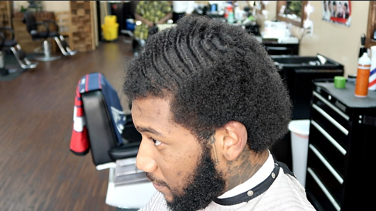 AMAZING!!! HAIRCUT TRANSFORMATION! END OF 3 MONTH WAVE WOLF!