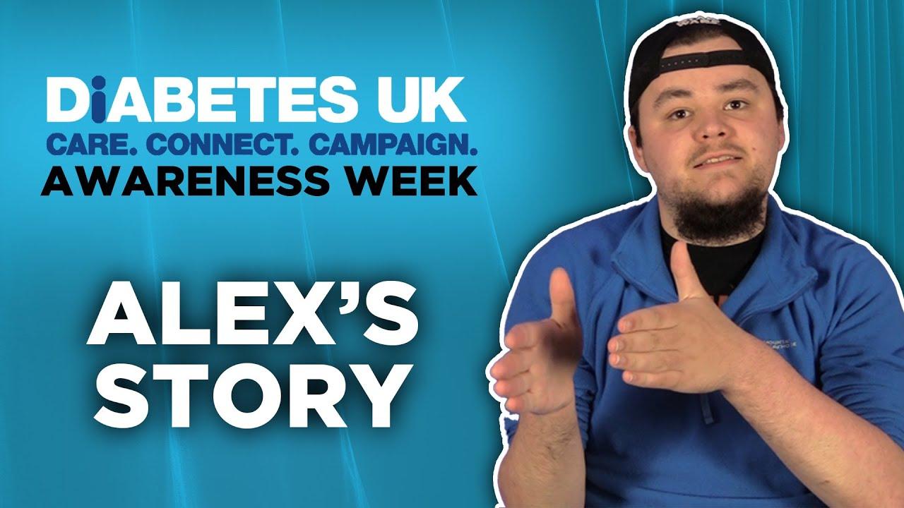 Diabetes Awareness Week | Alex's story
