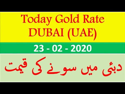 Gold Rate In Dubai Today Ii Price