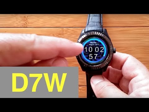 No.1 D7W Android Smartwatch (Prototype): Unboxing & 1st Look