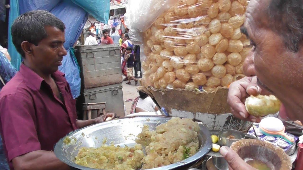 Street Food India Pani Puri Phucka Golgappa Of Kolkata Best