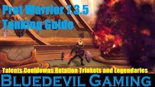 Prot Warrior Tanking Guide 7.3.5 Antorus the Burning Throne
