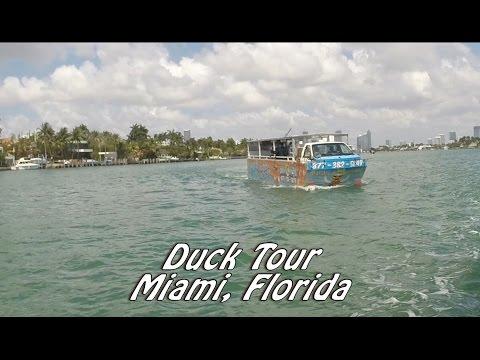 Duck Tour Miami Florida