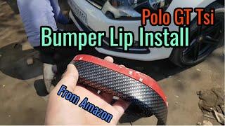 Bumper Lip install Polo GT Tsi