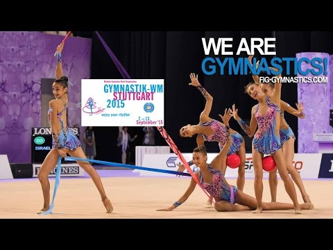 FULL REPLAY: 2015 Rhythmic Worlds, Stuttgart (GER) - Groups All-around - Part 2