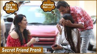 Secret Friend Prank On Cute Girls| Funky Joker