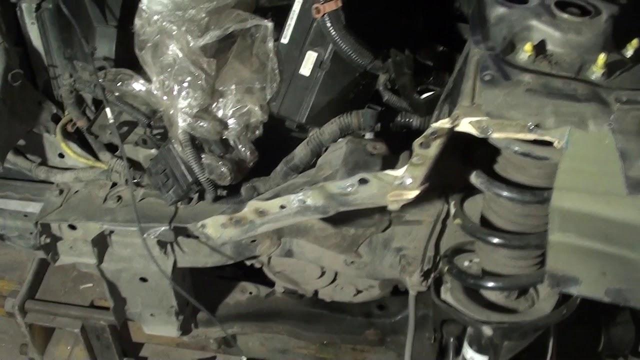 Кузовной ремонт ACURA RDX  Стапельные работы