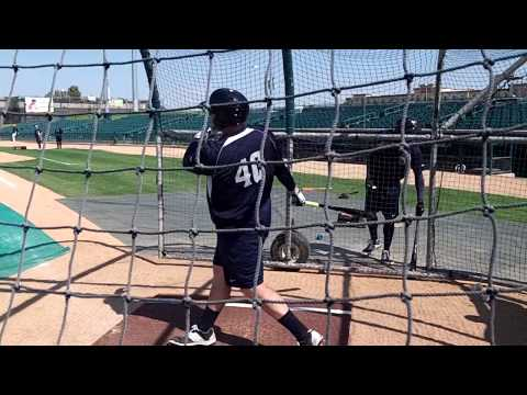 A.J. Reed Batting Practice - May 2015