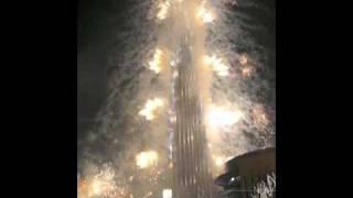 The Dubai Burj Khalifa Opening Fireworks