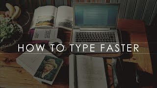 How to type faster - online typing test in English