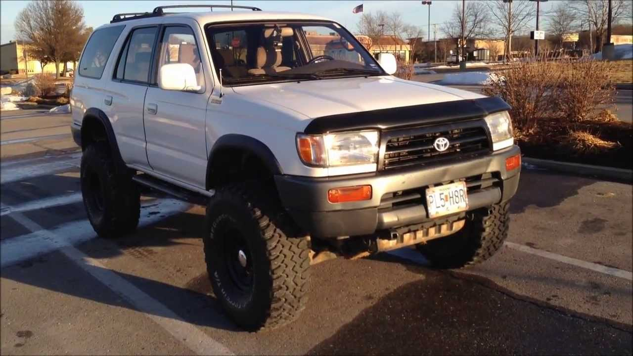 Great 1997 Toyota 4Runner Lifted 6 Inches On 35s