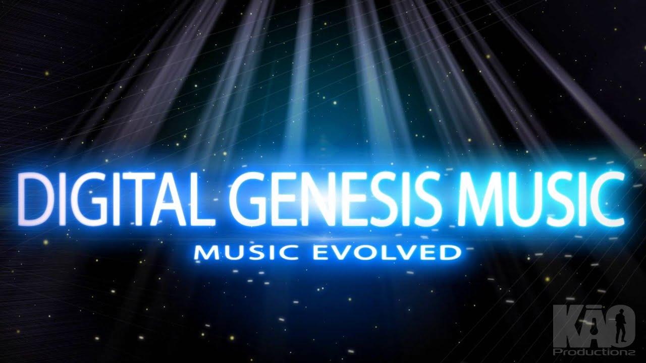 digital genesis music logo intro by kao youtube