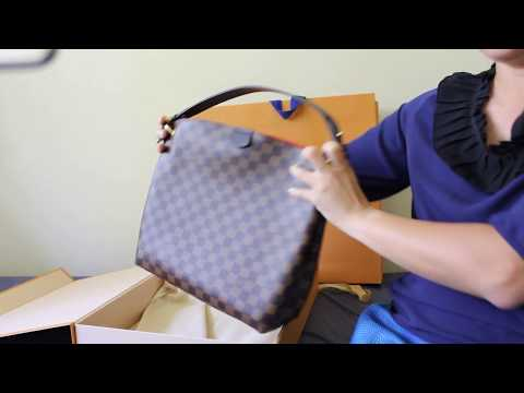 7 New Year 2018 S Unboxing My New Louis Vuitton Graceful Pm Bag
