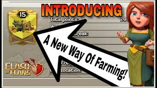INTRODUCING : A NEW WAY OF FARMING (WITH NO WALLS) IN CLASH OF CLANS | Enjoy More