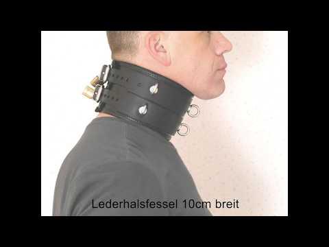 Halsfessel breit Posture collar Bondage