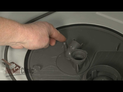 Pump Cover - Whirlpool Dishwasher Repair