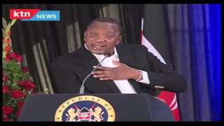 President Uhuru Kenyatta's bitter response to Raila Odinga over corruption scandals