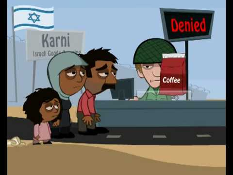 Gaza Strip Blockade Animation