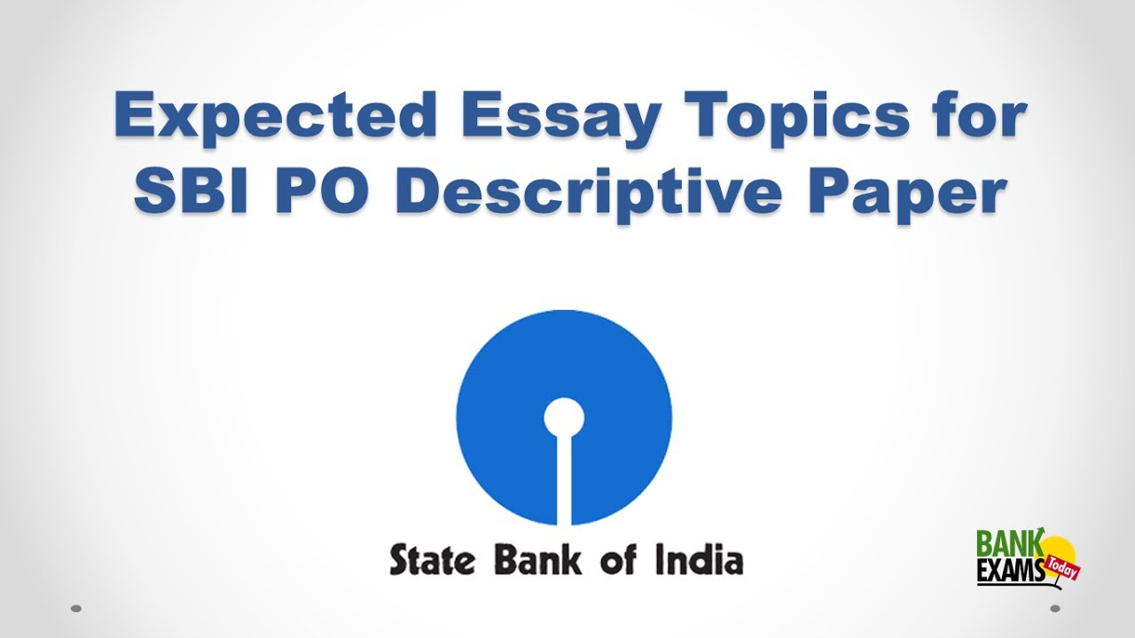 What are some tricks to crack the SBI PO exam    Quora SBI PO Descriptive Exam  Sample Essay