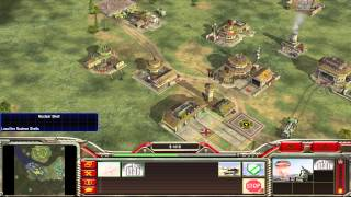 Command & Conquer Generals: Zero Hour Gameplay 2v2 For China!