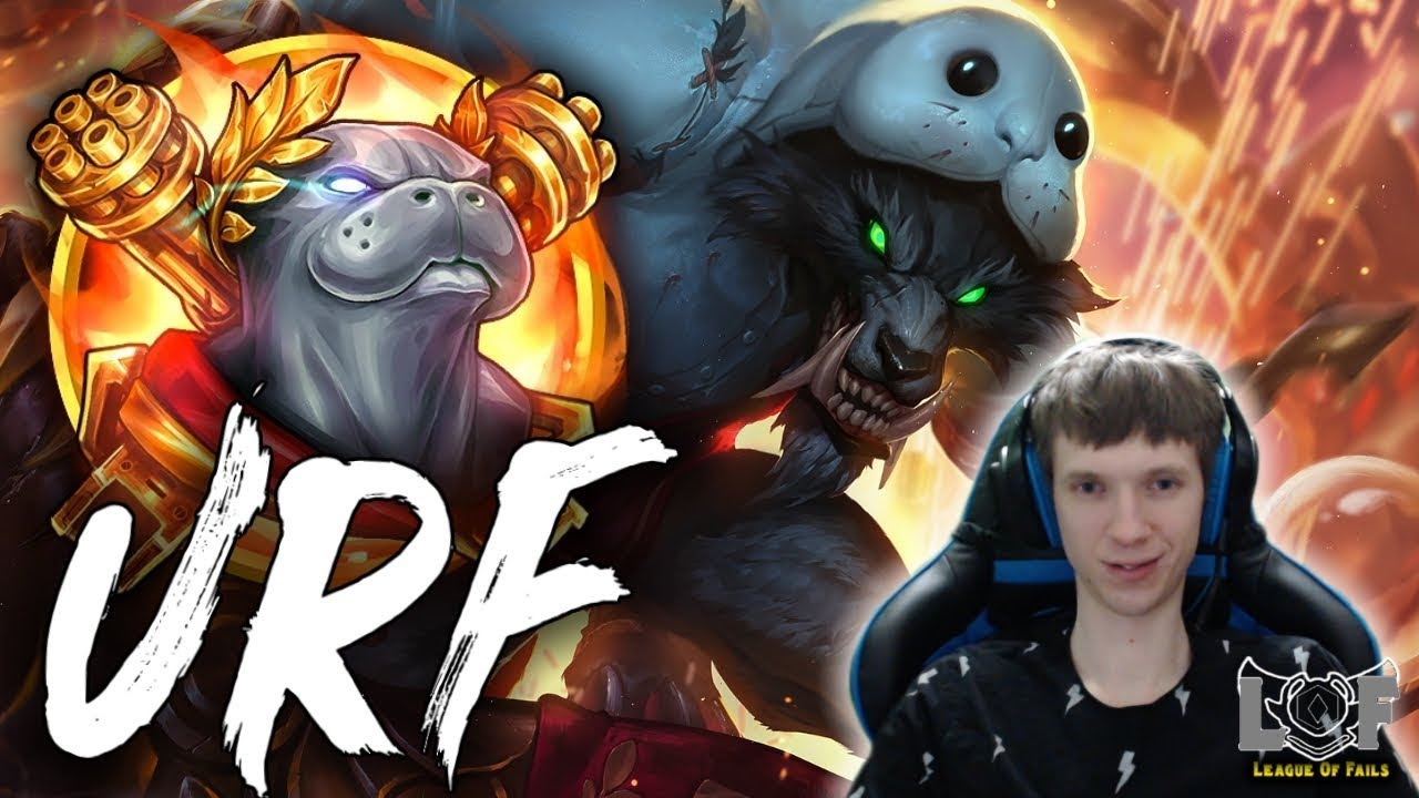 URF 2019 - All Random URF IS BACK | League of Legends Stream - YouTube
