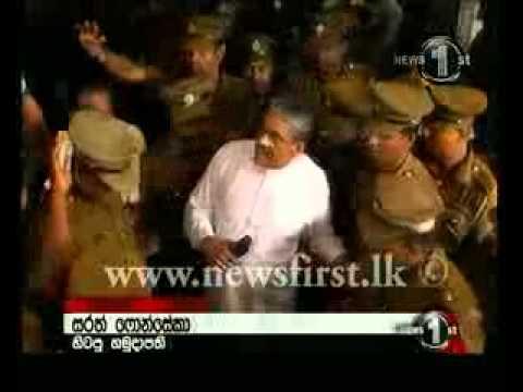 Sirasa Tv News 1st - ආණ්ඩුවට එජාපය ගැන අමුතු කැක්කුමක් - Sarath Fonseka