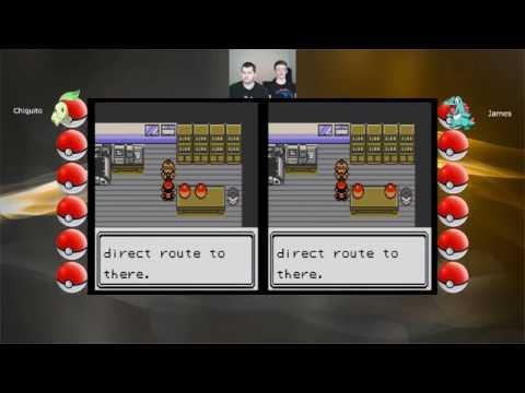Let's Play Pokemon Gold & Silver - 01 - Chikorita & Totodile, We choose you!