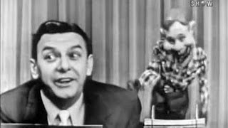 What's My Line? - Fred Allen's Debut; Buffalo Bob Smith & Howdy Doody (Aug 15, 1954)