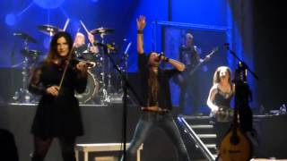 Eluveitie - King (live Salle des Fêtes Thônex [Genève] 17/10/15)