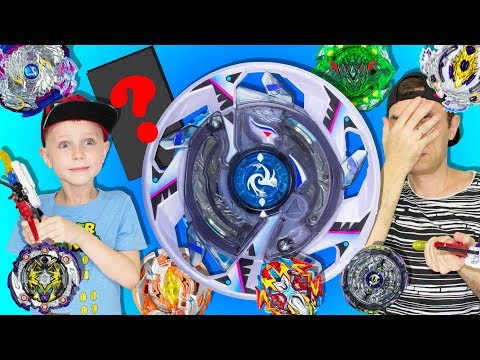 Why didn't Alexey play a new bey? And a cool GIFT from Daddy! BEYBLADE BURST: GARUDA