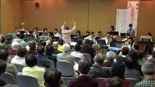 20170402お花見コンサート 紫金山ポップスオーケストラ 吹田市立博物館 2階 講座室