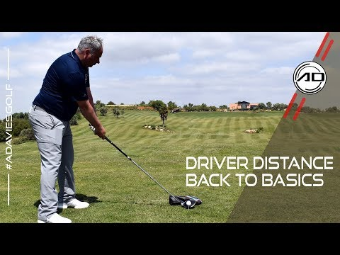 Driver Distance Back To Basics