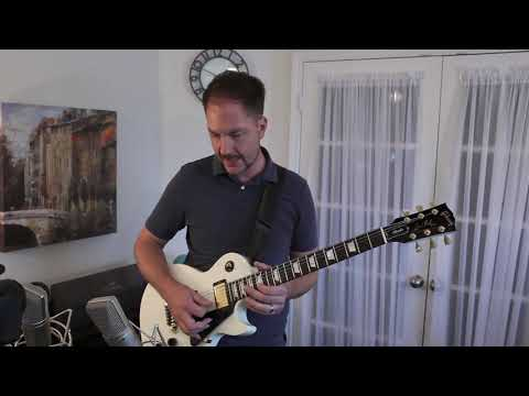 Jon Pardi - Night Shift - Guitar Solo Cover and Lesson with Backing Track