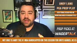 ⛳ Golf Picks and Predictions | AT&T Pebble Beach Pro-Am Preview and PGA H2H Free Play