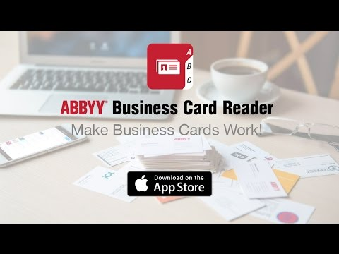 Abbyy bookscanner for ios smart pocket scanner for your books abbyy business card reader for ios now on your apple watch reheart Gallery