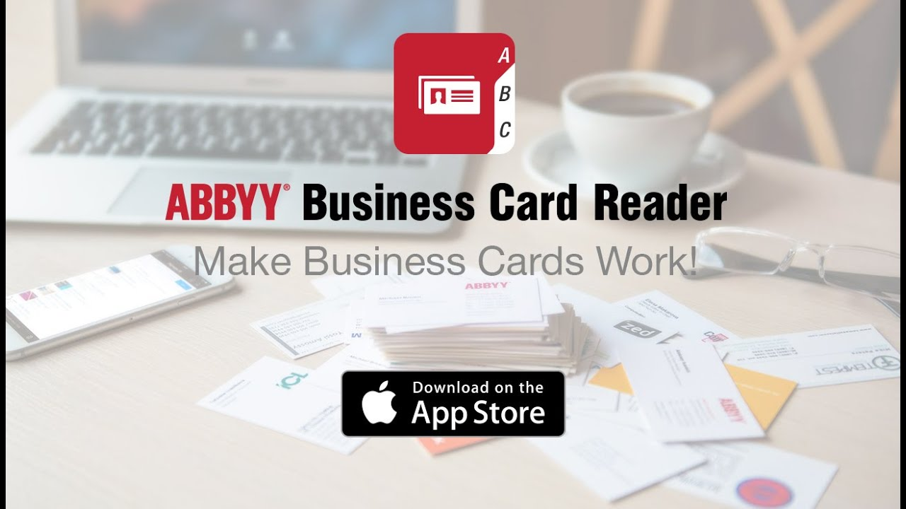 Abbyy business card reader for ios now on your apple watch youtube abbyy business card reader for ios now on your apple watch colourmoves