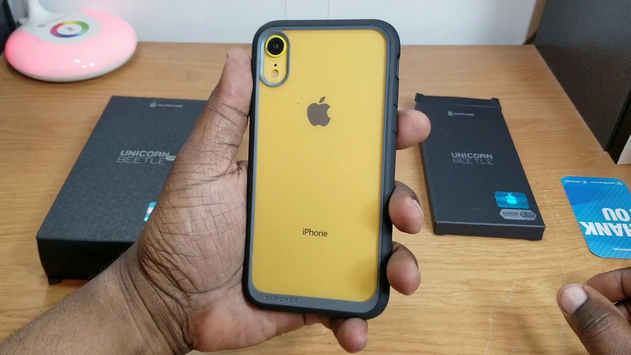 premium selection f87a7 2343d i-Blason/Supcase Unicorn Beetle Cases for the IPhone XR Unboxing