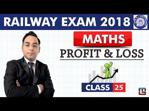 Profit & Loss | Maths | Class - 25 | RRB | Railway ALP / Group D | Live At 9 PM