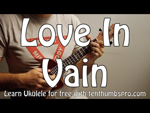 Love In Vain Blues - Robert Johnson - Delta Blues Ukulele Tutorial, Strummer and Fingerpicking