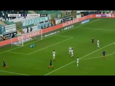 Arda Turan'ın Bursaspor'a attığı harika gol. (İlk maçı)
