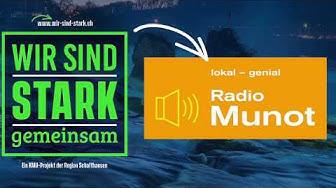 Wir sind stark gemeinsam - Radio Munot Interview