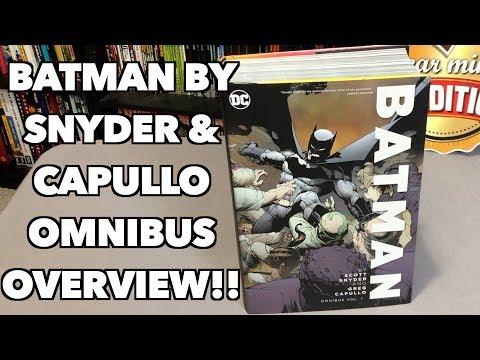 Batman By Scott Snyder & Greg Capullo Omnibus Vol. 1 Overview!