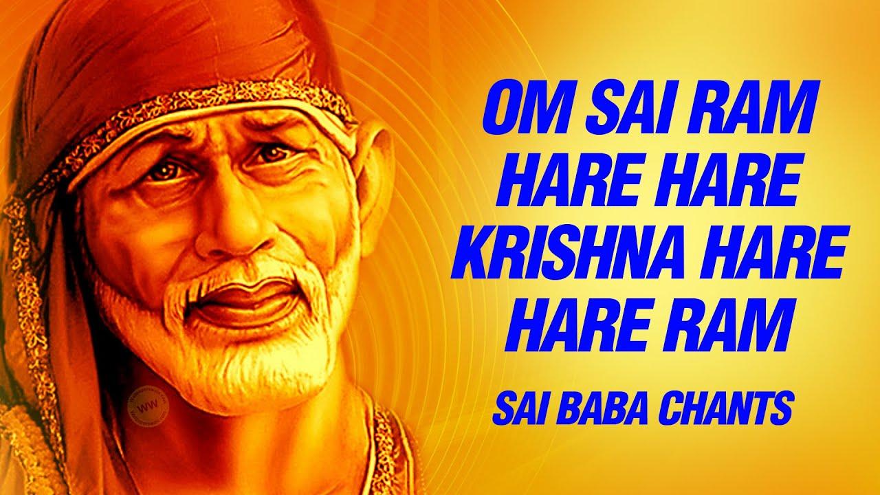 Sai Baba Wallpapers Hd Free Download Om Sai Ram Om Sai Ram Hare Hare Krishna Hare Hare Ram
