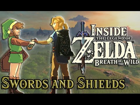 Inside Zelda Breath of the Wild - Swords and Weapons