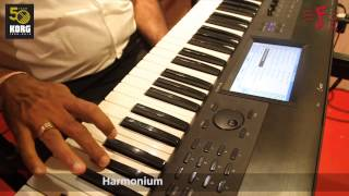 KORG Krome Demonstration - Indian Sounds & Tones