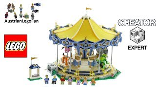 Lego Creator 10257 Carousel - Lego Speed Build Review